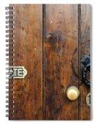 Old Door Spiral Notebook