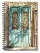 Old Door In Jersusalem Israel Spiral Notebook