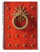 Old Door Knocker Spiral Notebook