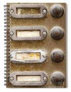 Old Doorbells Spiral Notebook