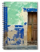 Old Doors, Mexico Spiral Notebook