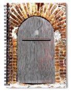 Old Doorway Of Pidgeon Island Fort Spiral Notebook