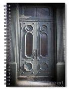 Old Doorway Quebec City Spiral Notebook