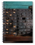 Old Drawers Spiral Notebook