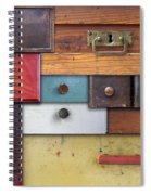 Old Drawers - In Utter Secrecy Spiral Notebook