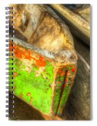 Old Dug-out Canoes Spiral Notebook