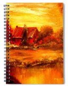 Old Dutch Farm Spiral Notebook
