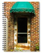 Old Factory Entrance Spiral Notebook