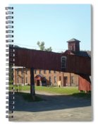Old Factory Spiral Notebook