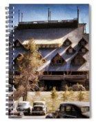 Old Faithful Inn Yellowstone  Spiral Notebook