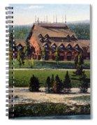 Old Faithful Inn Yellowstone Np 1928 Spiral Notebook
