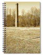 Old Faithful Smoke Stack Spiral Notebook