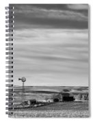 Old Farm - Baseline Road - Waterville - Waterville - Washington - May 2013 Spiral Notebook