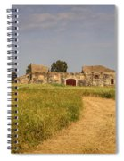 Old Farm - Barn Spiral Notebook