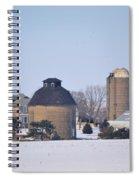 Old Farm Spiral Notebook