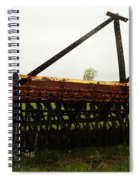 Old Farm Equipment Spiral Notebook