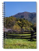 Old Farm House At Cades Cove Spiral Notebook