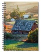 Old Farm In Eastern Washington Spiral Notebook