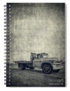Old Farm Truck Cover Spiral Notebook
