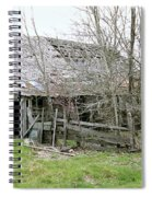 Old Farmhouse Spiral Notebook