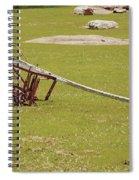 Old Farming Till Spiral Notebook