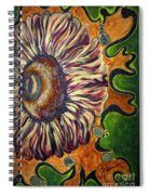 Old Fashion Flower 2 Spiral Notebook
