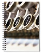 Old Fashioned Cash Register Spiral Notebook