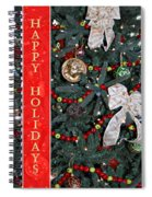 Old Fashioned Christmas Spiral Notebook