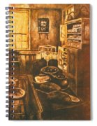 Old Fashioned Kitchen Again Spiral Notebook