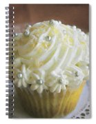 Old Fashioned Lemon Cupcake Spiral Notebook