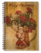 Old Fashioned St Nick Spiral Notebook