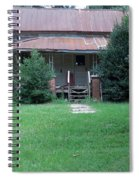 Old-fashioned Welcome Spiral Notebook