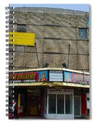 Old Film Theatre In Decay Spiral Notebook