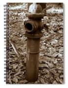 Old Fire Hydrant  Spiral Notebook