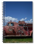 Old Fire Truck Spiral Notebook