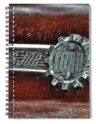 Old Firetruck  Spiral Notebook