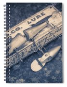 Old Fishing Lures Spiral Notebook