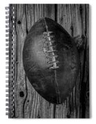 Old Football Spiral Notebook