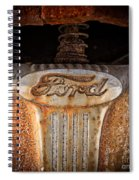 Old Ford Square Format Spiral Notebook
