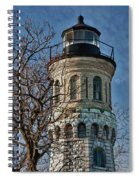 Old Fort Niagara Lighthouse 4484 Spiral Notebook