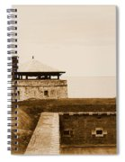 Old Fort Niagara North Redoubt Spiral Notebook