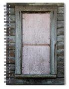 Old Framed Window Spiral Notebook