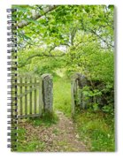 Old Garden Gate Spiral Notebook