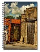 Old Gas Station Spiral Notebook
