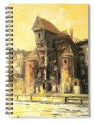 Old Gdansk - The Crane Spiral Notebook