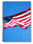 Old Glory - American Flag By Sharon Cummings Spiral Notebook