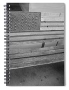 Old Glory Bench In Philadelphia Spiral Notebook