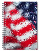 Old Glory Impression Spiral Notebook