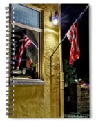 Old Glory Reflected Spiral Notebook