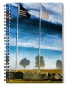 Old Glory-the American Flag Spiral Notebook
